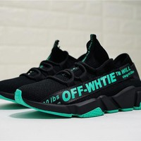 Off White Speed Stretch Knit Sock Trainer Of8524 03 Size 36 44