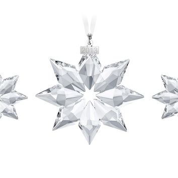 Swarovski Crystal Christmas Ornaments Set of 3 Christmas set 2013 #5004492
