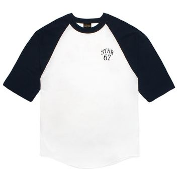 STAR 67 RAGLAN TEE | October's Very Own