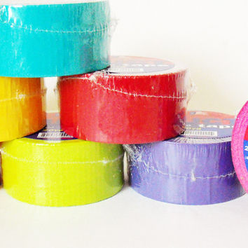 "colored duct tape 2"" x 20 yards assorted Case of 36"