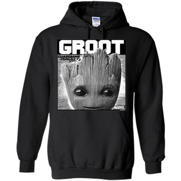 Marvel Guardians Vol. 2 Baby Groot Close-Up Graphic T-Shirt cool shirt