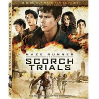 The Maze Runner: The Scorch Trials - The Ultimate Fan Edition (Blu-ray + DVD + Digital HD) (Widescreen) - Walmart.com