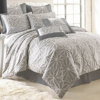 Kate 8-pc. Jacquard Comforter Set