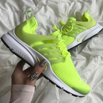 Fashion Online Nike Presto Neon Shoes Sneakers
