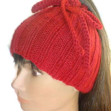 Hat Ponytail, Cowl in One