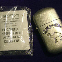 Vintage Camel Flip-Top Lighter