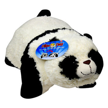 Pillow Pets 18 Inch Folding Stuffed Animal - Comfy Panda | Walgreens