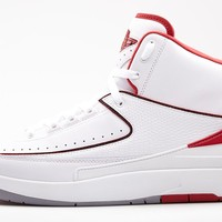 "Air Jordan 2 Retro ""White Varsity Red"" Release Details"