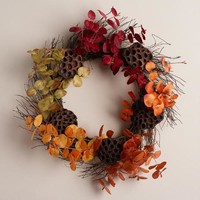 Eucalyptus Wreath with Pods