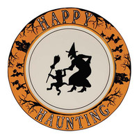 Happy Haunting Dinner Plates (Set of 4)