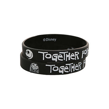 The Nightmare Before Christmas Together Forever Bracelet 2 Pack   Hot Topic