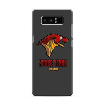 Game Of Thrones House Stark Iron Man Samsung Galaxy Note 8 Case