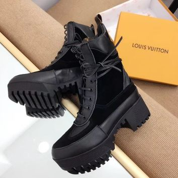 Louis Vuitton LV Women Casual Fashion Martin Boots Shoes-8