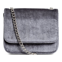 H&M Velvet Shoulder Bag $24.99