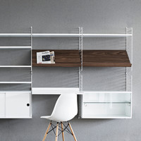 String shelving system by Nils Strinning