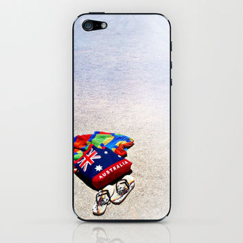 SummerTime iPhone & iPod Skin by Limmyth