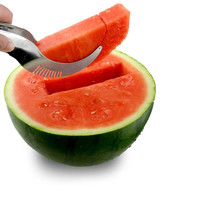 Comenzar Watermelon Slicer Corer Stainless Steel Fruit Peeler Faster Melon Cutter-Useful & Smart Kitchen Gadget YH003-SZ+