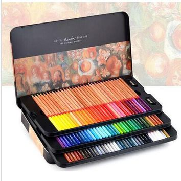 Marco Professional Colored Pencil Multi Color Artist Drawing Painting Set School Supplies Stationery