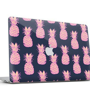 Pineapple Sunset Vinyl Skin for Macbook Air & Macbook Pro and Macbook Pro Retina (All Models) - Trendy One of a Kind Gift