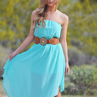 The Grand Finale Maxi Dress - Mint