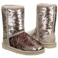 UGG Australia Classic Short Sparkles Holiday Shimmer Womens Boot HOLIDAY (5)