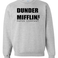 The Office US Dunder Mifflin Jumper Available in Different Colours & Sizes!
