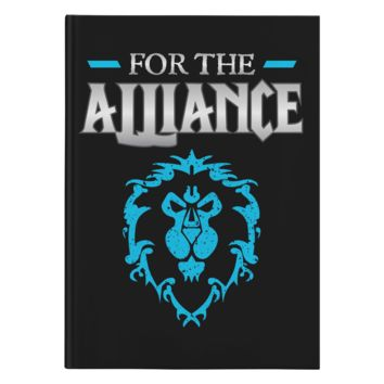"""World of Warcraft """"For the Alliance"""" Journal"""