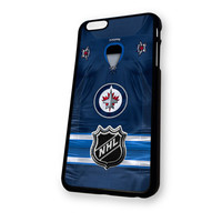 Winnipeg Jets NHL Logo Jersey iPhone 6 Plus case