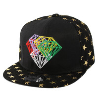 Korean Embroidery Baseball Cap Hip-hop Hats [4917647300]