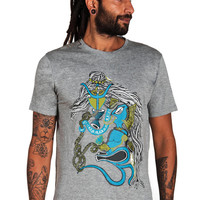 Ganesh T shirt-Elephant Shirt-Indian Art-Graphic mens T shirt-Om T shirt-Shiva Shirt-Mythology-Visionary Art