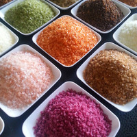 Gourmet Sea Salts, Father's Day Gift, 25 to choose from, pick 8, spice rack, chef gift, foodie gift, display box, FREE SHIPPING