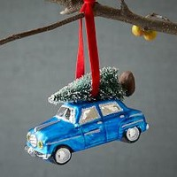 Car Ornament - Blue