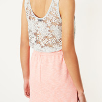 Lace Vest - Jersey Tops - Clothing - Topshop USA