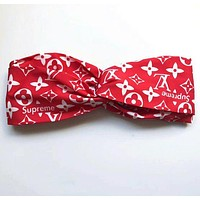 ONETOW LV Louis Vuitton Supreme Silk Headband Sports Hats Scarf