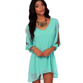 New Sexy Women Ladies Summer Casual Party Evening Short Mini Dress Hottest