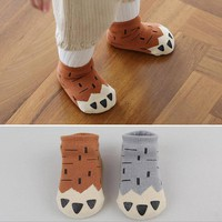 Hot Sale Cute Fox Claw Short Socks for Newborn Baby Girls Cotton Anti Slip Floor Socks Socks Toddler Boy Kid Casual socks Unisex