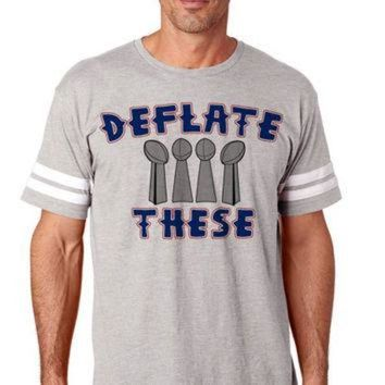 VLX9RV Deflate These 2 Unisex NFL Tee Football Jersey New England | NFL Tee Shirts Jerseys |