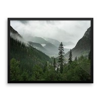 Valley of Forever - Framed Photo Print