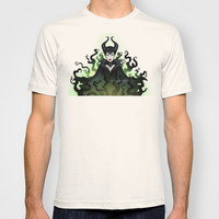 Maleficent 2014 T-shirt by Katie Simpson | Society6
