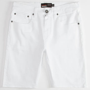 Rsq London Mens Skinny Shorts White  In Sizes