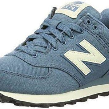 ICIKGQ8 new balance women s 574 waxed canvas pack fashion sneaker