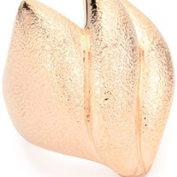 """nOir Jewelry """"Tapers and Spikes"""" Rose Gold New Novelty Ring"""