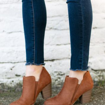 Hustle Daily Chestnut Bootie