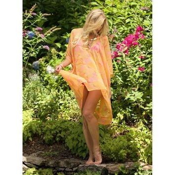 Orange and Pink Caftan