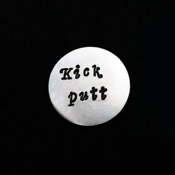 Golf Marker, Kick Putt, Golf Ball Marker, Christmas gift, Fathers Day Gifts For Dad, Personalized Golf Marker, Golf Gifts, Golf Accessories
