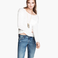 Light Fine-knit Sweater - from H&M