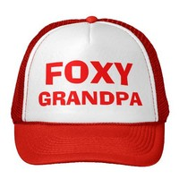 Foxy Grandpa Hat from Zazzle.com