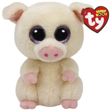TY Beanie Boos Piggley the Pig Small 6""