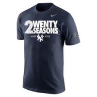 "Nike ""2wenty Seasons"" (MLB Yankees / Derek Jeter) Men's T-Shirt"