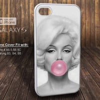 bubblegum marylin monroe for HTC Nexus Sony Xperia iPhone iPod Samsung